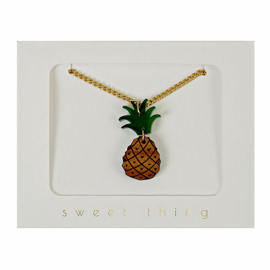 Meri Meri Necklace - Pineapple