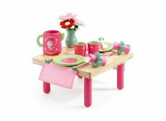 Djeco Wooden Lili Rose's Lunch Set