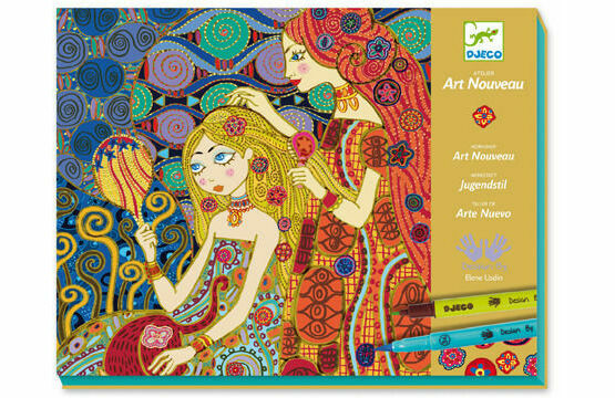 Djeco Art by Numbers Workshop – Art Nouveau