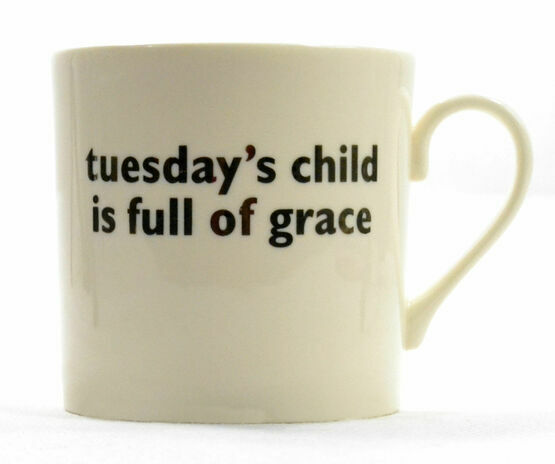 big tomato company Tuesday's Child Mug